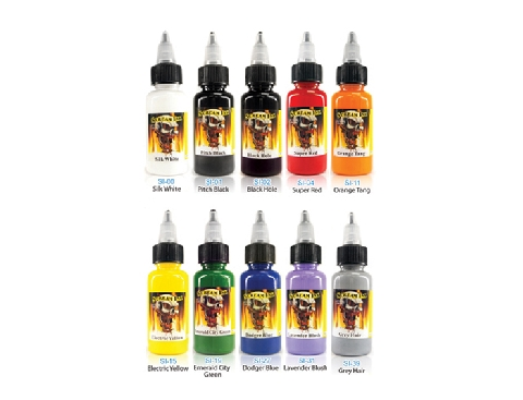 Scream Ink 10-pack Set