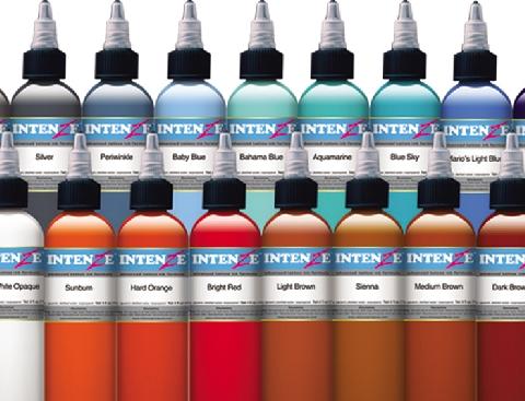 Intenze ink sets intenze ink color inks black tattoo ink for Intenze tattoo ink sets