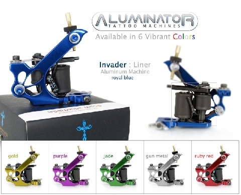 Invader Tattoo Machine