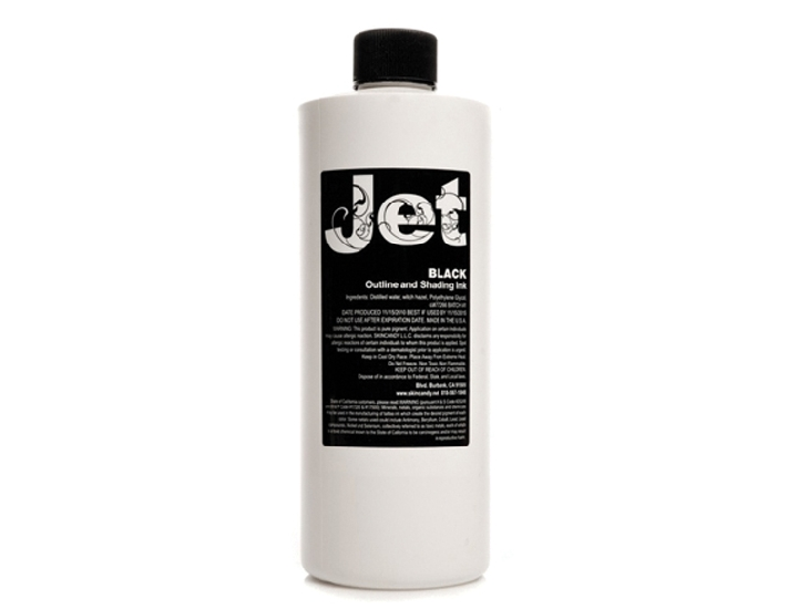 JET BLACK LINING & SHADING INK 16-oz by Skin Candy - Jet Outline and ...