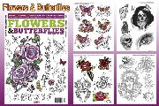 Flowers & Butterflies Designs